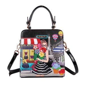 """NEW Limited Edition Nicole Lee """"A Day in Paris""""Bag"""